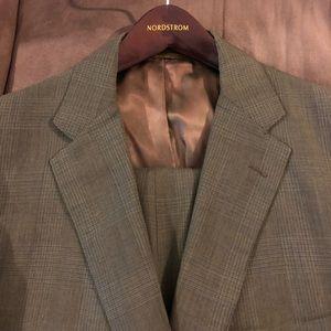 Other - Vintage 1960s Green Glenn Plaid Suit 43R